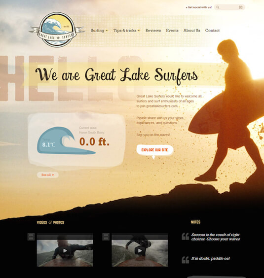 Greate Lake Surfers